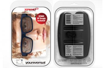 XpanD YOUniversal + RF-Dongle (B104LX1)
