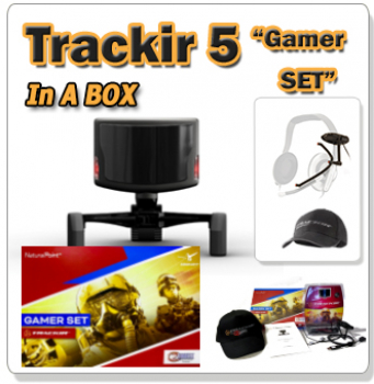 Trackir 5 Gamer Set in a BOX
